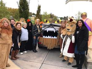 Lions Club at the 2018 Trunk or Treat